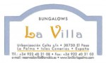 Bungallows La Villa